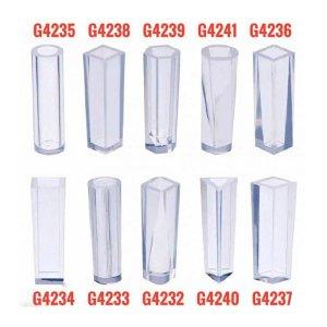 قالب سیلیکونی استوانه ای در طرح های مختلف