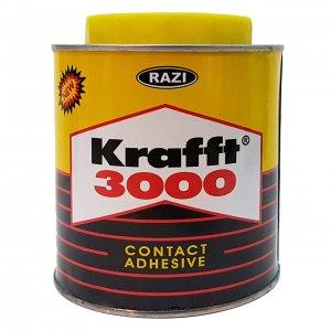 چسب آهن رازی مدل Krafft 3000 حجم ۱ لیتر
