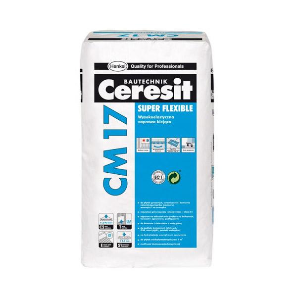 چسب کاشی پودری انعطاف پذیر سرزیت هنکل Ceresit CM17