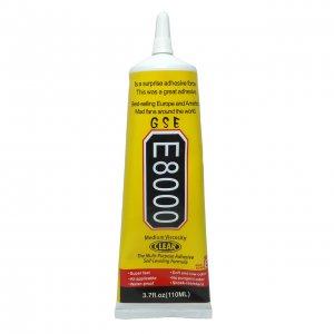 چسب مایع مدل E-8000 حجم ١١٠ میلی لیتر