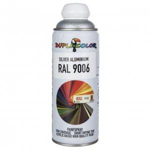 اسپری رنگ نقره ای دوپلی کالر مدل RAL 9006 حجم ۴۰۰ میلی لیتر