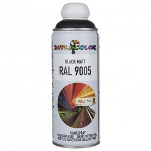 اسپری رنگ مشکی مات دوپلی کالر مدل RAL 9005 حجم ۴۰۰ میلی لیتر