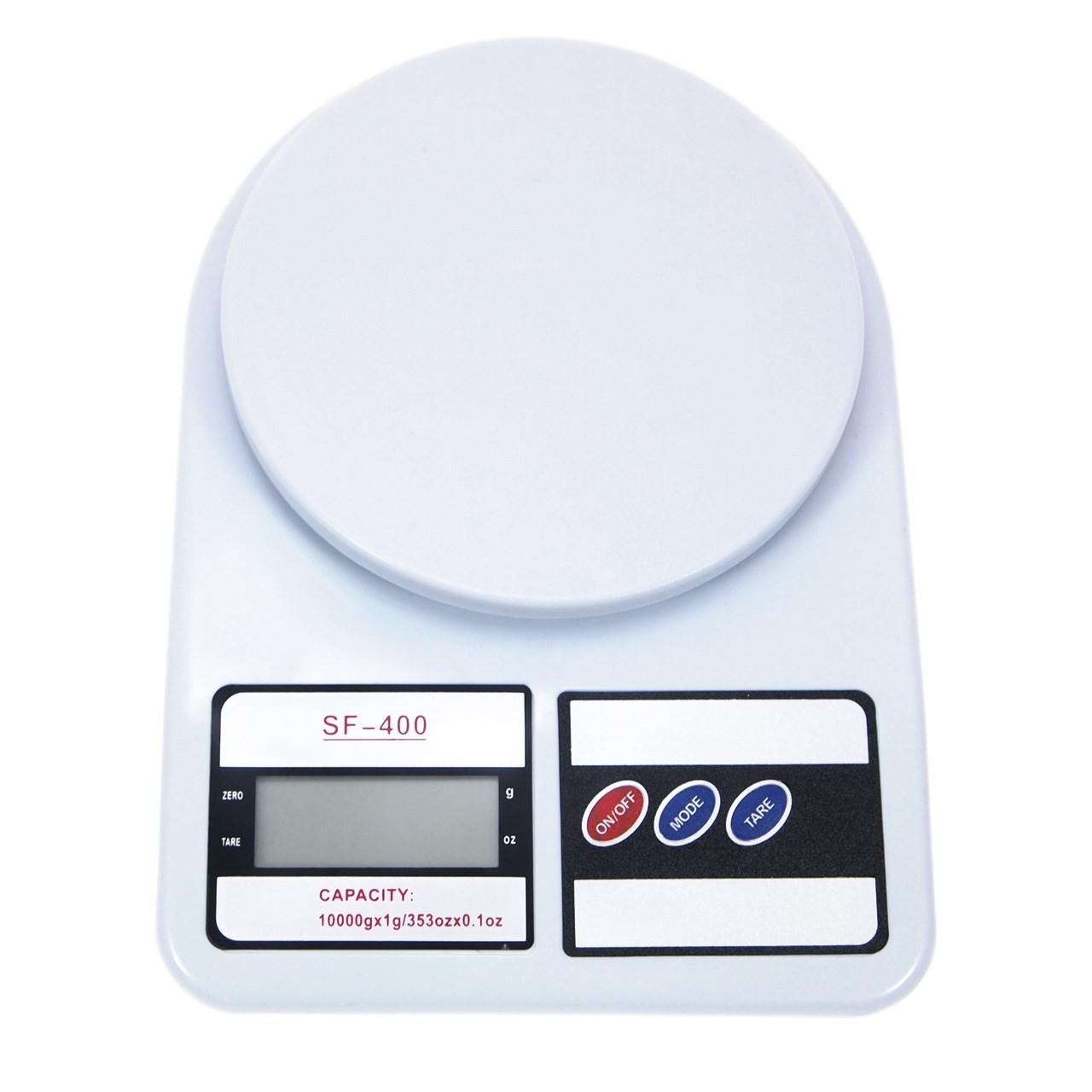 ترازو آشپزخانه الکترونیک مدل SF-400 ظرفیت ۱۰ کیلوگرم