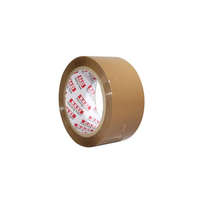 چسب نواری بسته بندی رازی قهوه ای